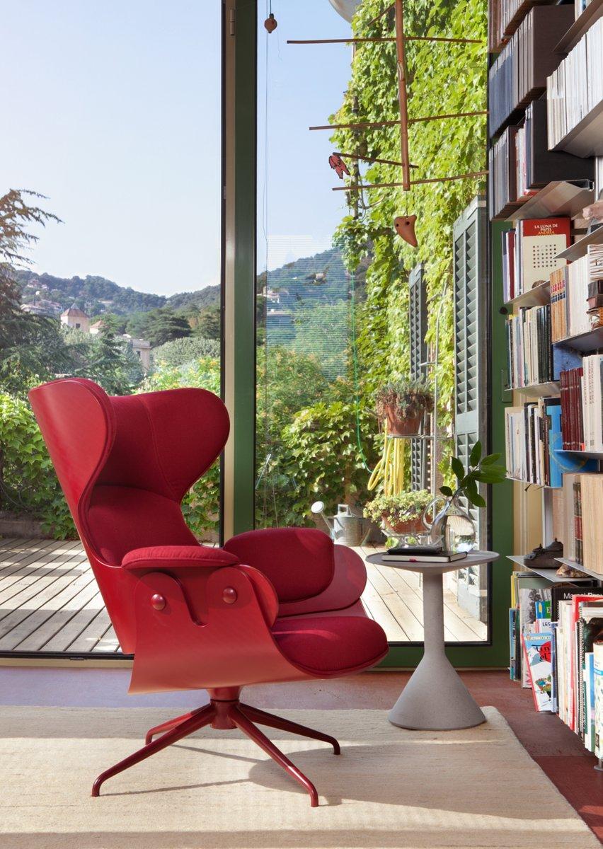 Lounger Sessel mit lackiertem Gestell von Jaime Hayon für BD Barcelona