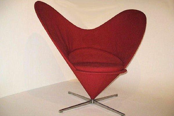 Heart Cone Sessel von Verner Panton für Vitra