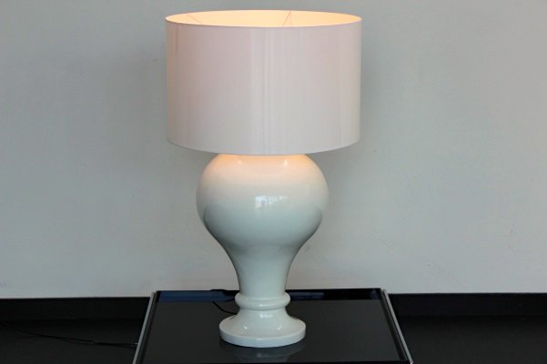 Große Weiße Stehlampe, 1990er