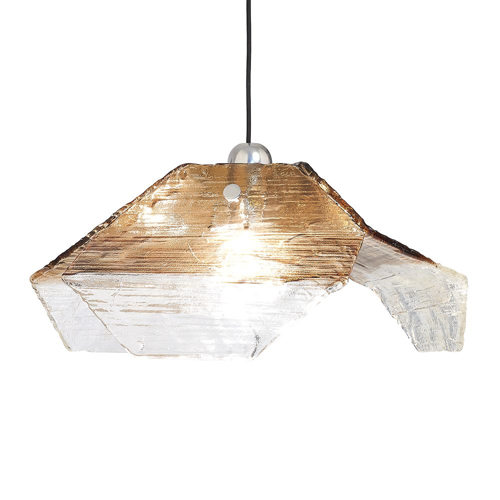 Deckenlampe aus Murano Glas von Kalmar, 1970er