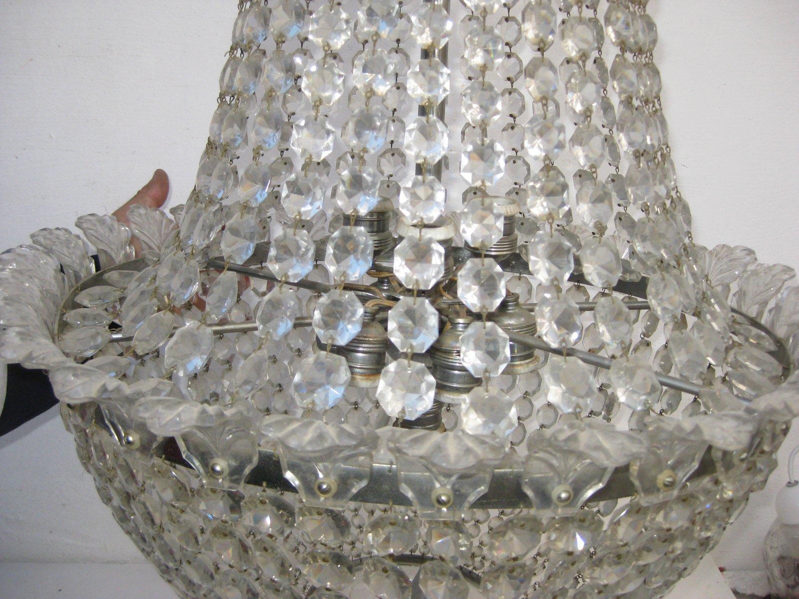 Lampe im Imperial-Stil von Baccarat, 1940er