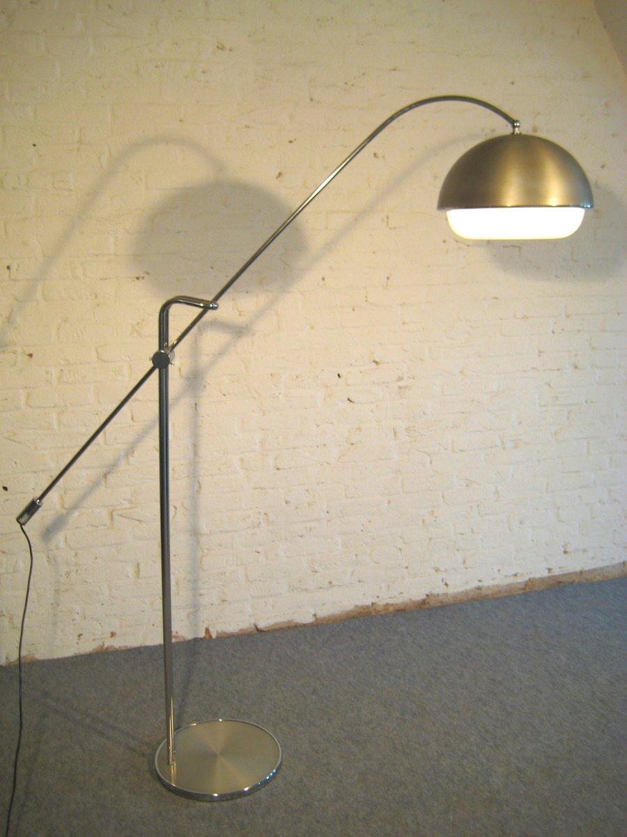 Hohe verstellbare Mid Century Stehlampe