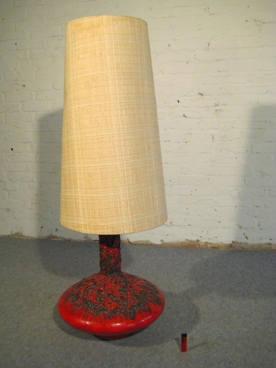 Fat Lava UFO Tischlampe von Otto Gerharz für Otto Keramik, 1960er