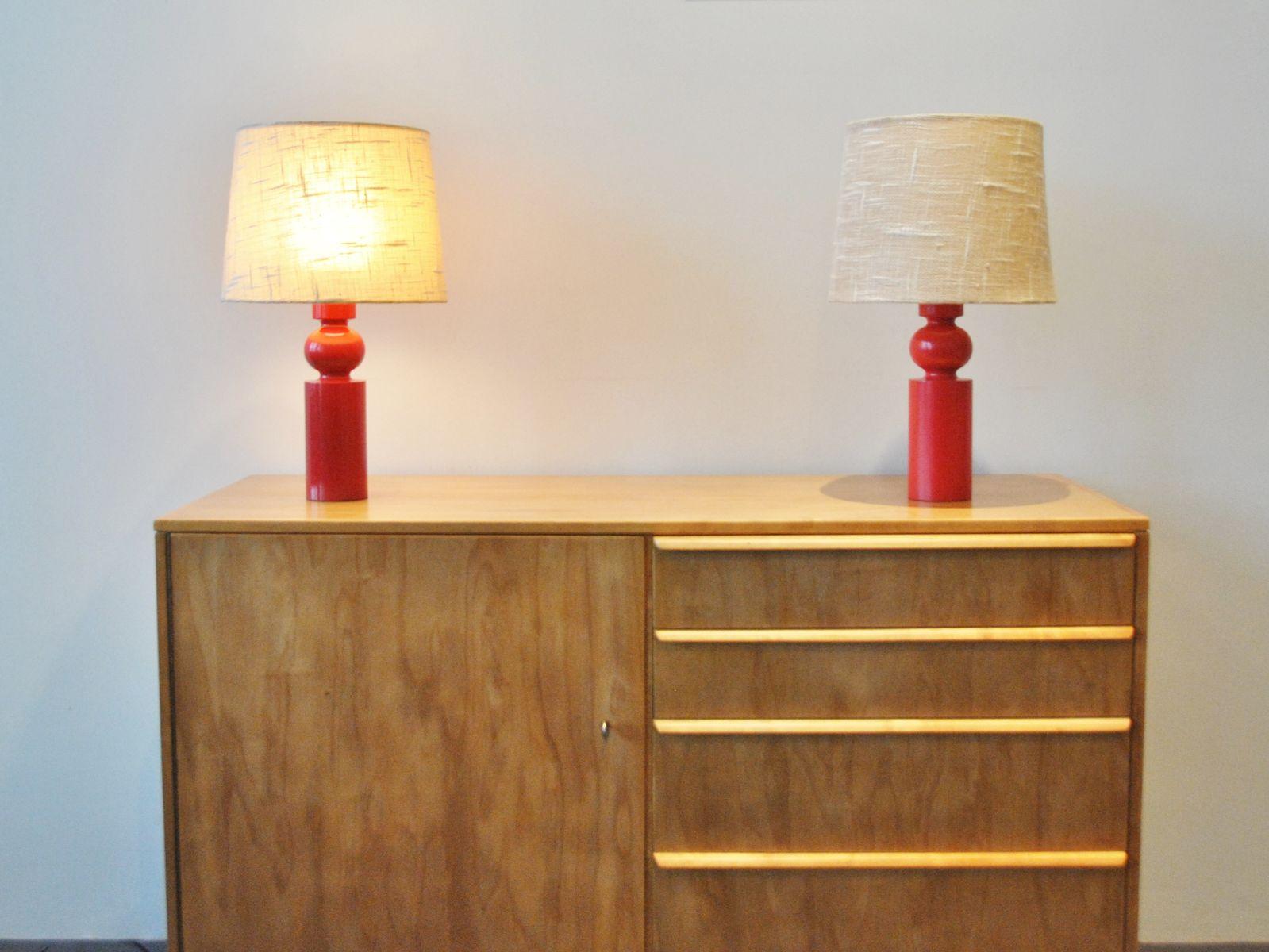 tischlampe von uno und sten kristiansson f r luxus bei pamono kaufen. Black Bedroom Furniture Sets. Home Design Ideas
