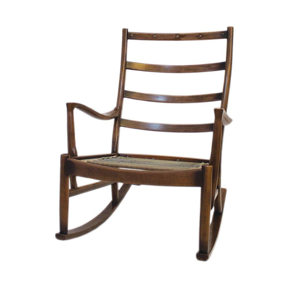 Sedia a dondolo PK1016-19 di Parker Knoll, anni \'60