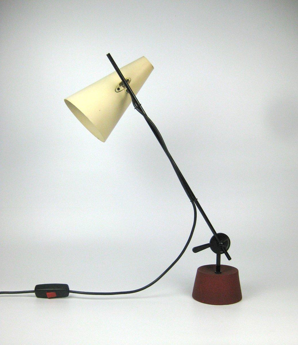 Schreibtischlampe von Bunte & Rammler, 1950er