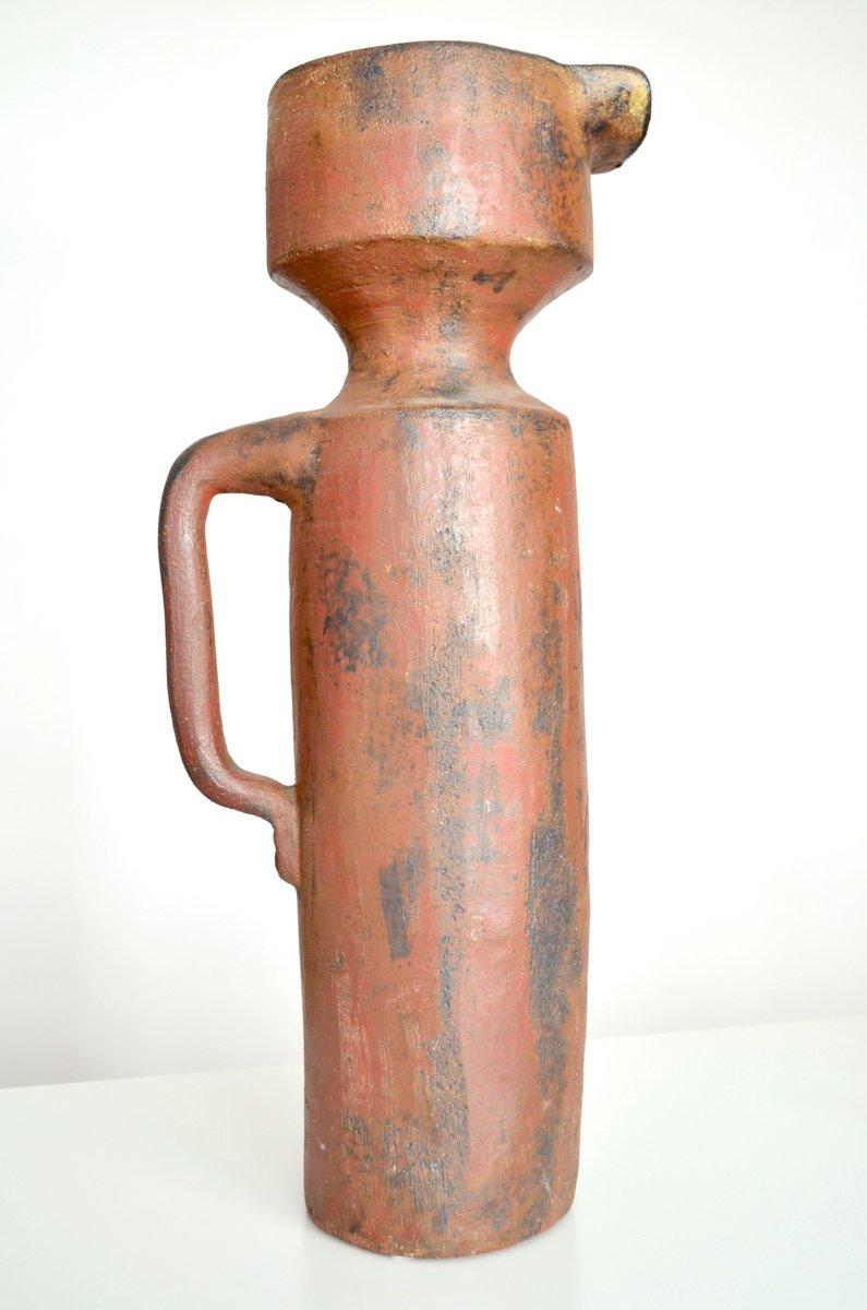 Large Vase By Gerhard Lieberthron