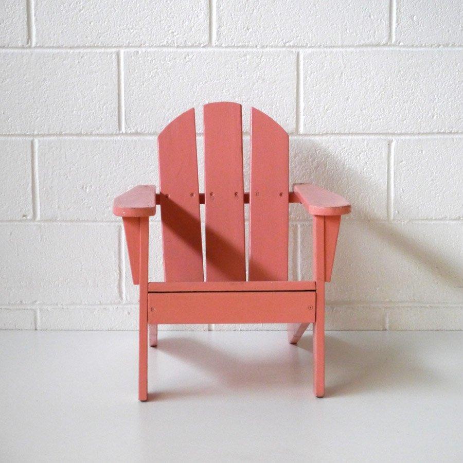 Sedia da bambino adirondack anni 39 70 in vendita su pamono for Sedia design anni 70