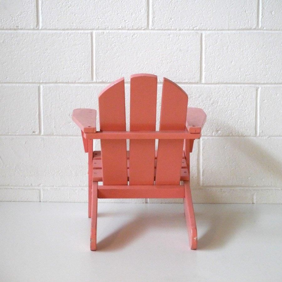 Chaise pour enfant style adirondack 1970s en vente sur pamono - Chaise adirondack france ...