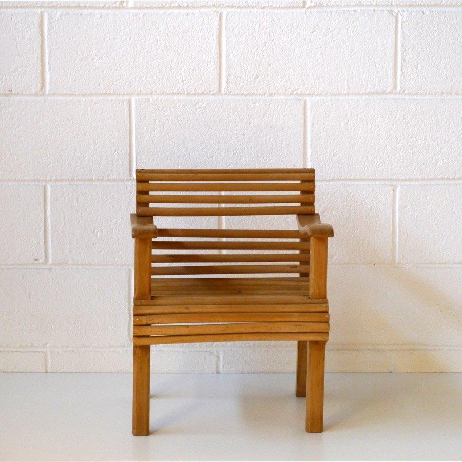 vintage kinderstuhl f r den garten bei pamono kaufen. Black Bedroom Furniture Sets. Home Design Ideas