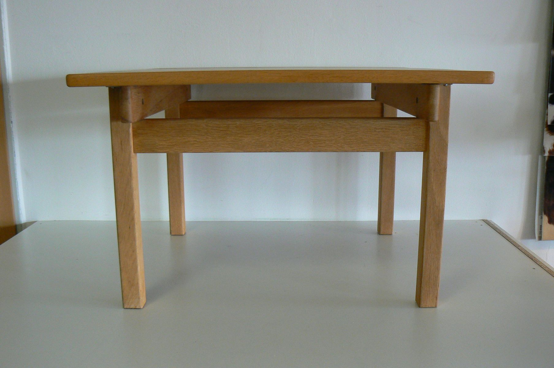 Oak square dining table by kurt ostervig for kp mbler 1965 for price 132100 regular price 140600 watchthetrailerfo