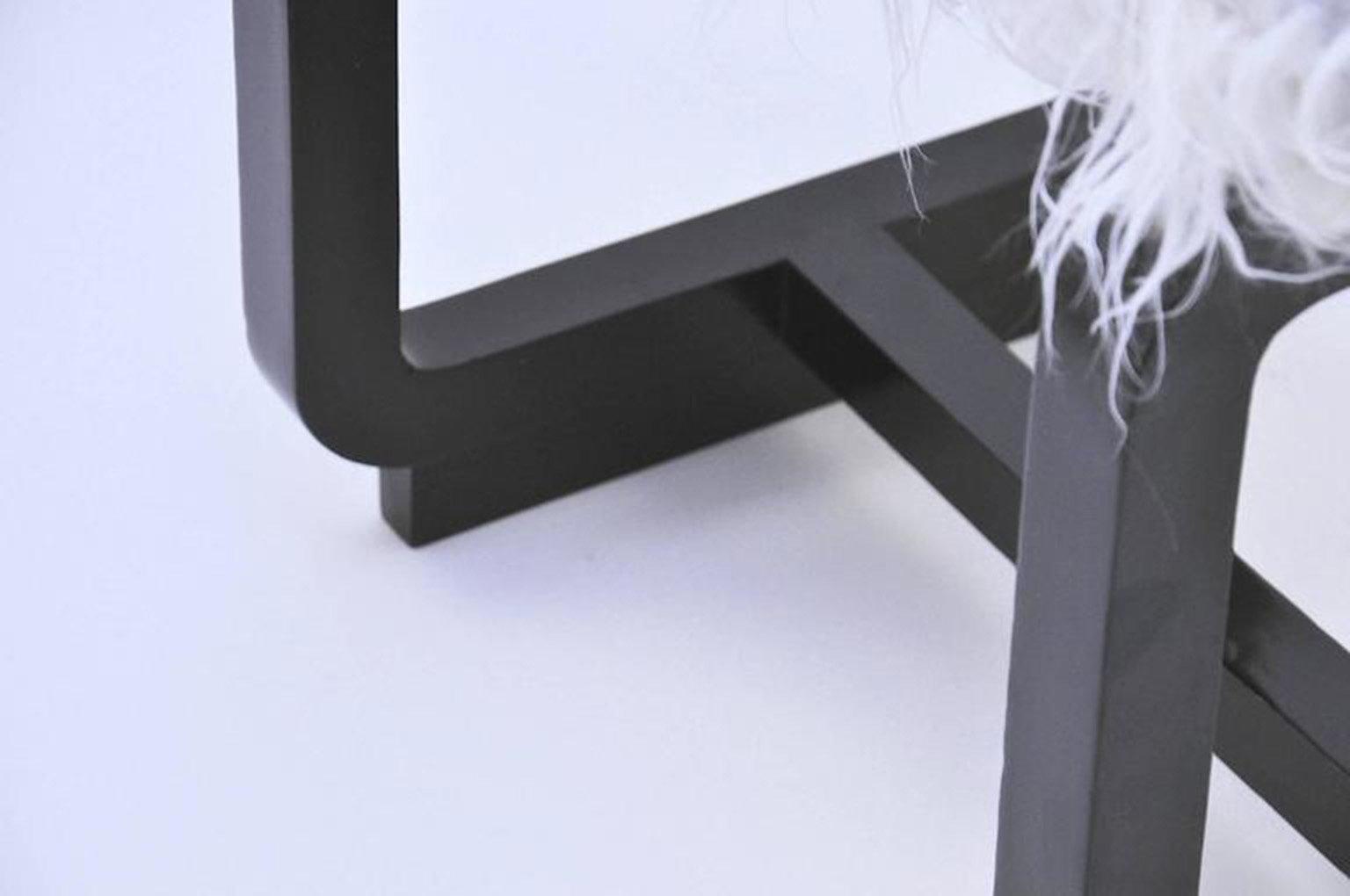 Sgabello pieghevole sgabello solido telaio in lega leggera da