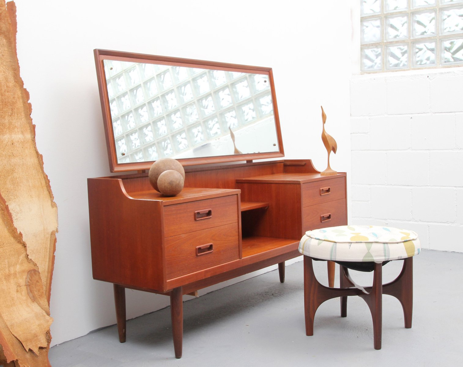 Mid Century Teak Dressing Table 1950s For Sale At Pamono