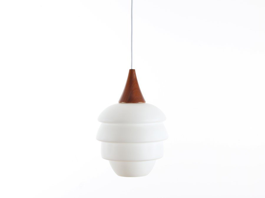lampe suspension scandinave 1960s en vente sur pamono. Black Bedroom Furniture Sets. Home Design Ideas