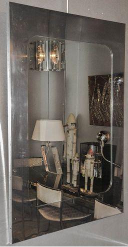 Specchio Da Parete Vintage Anni 39 70 In Vendita Su Pamono
