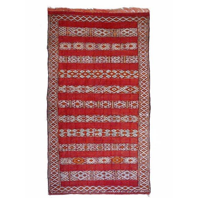 zemmour kelim berber teppich bei pamono kaufen. Black Bedroom Furniture Sets. Home Design Ideas