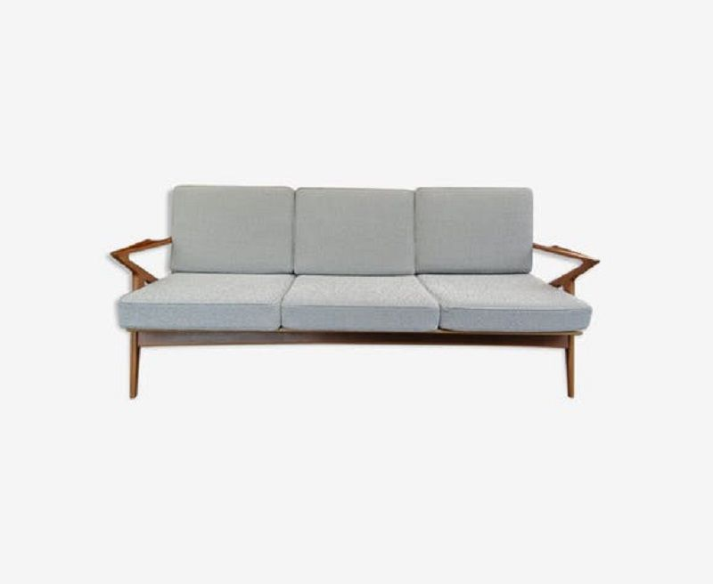 Mid-Century 3-Sitzer Sofa von Poul Jensen für Chr. Jensen Møbelsnedker...