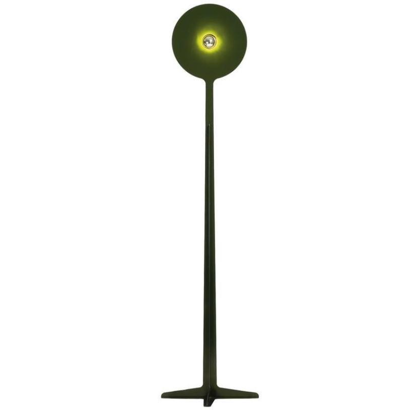 Dunkelgrüne Randogne 180 Stehlampe von Philippe Cramer, 2007