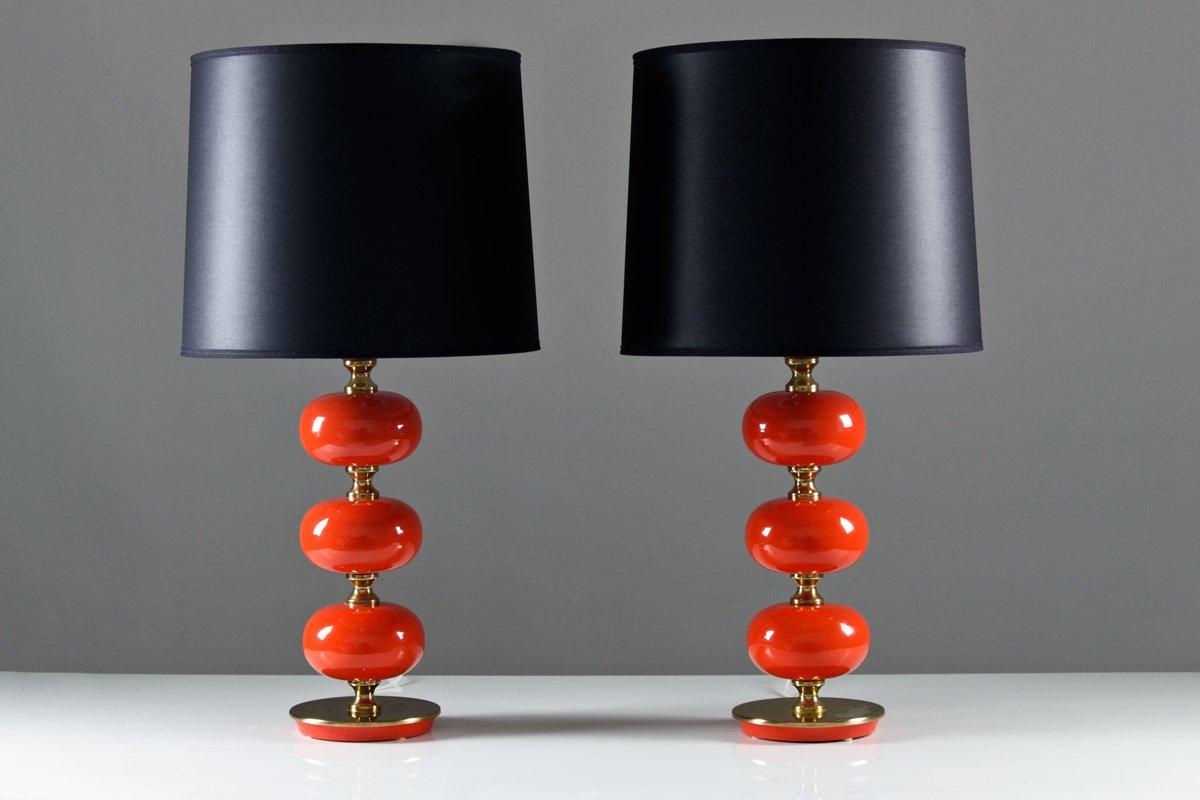 Vintage Tischlampen von Tranås Stilarmatur, 2er Set