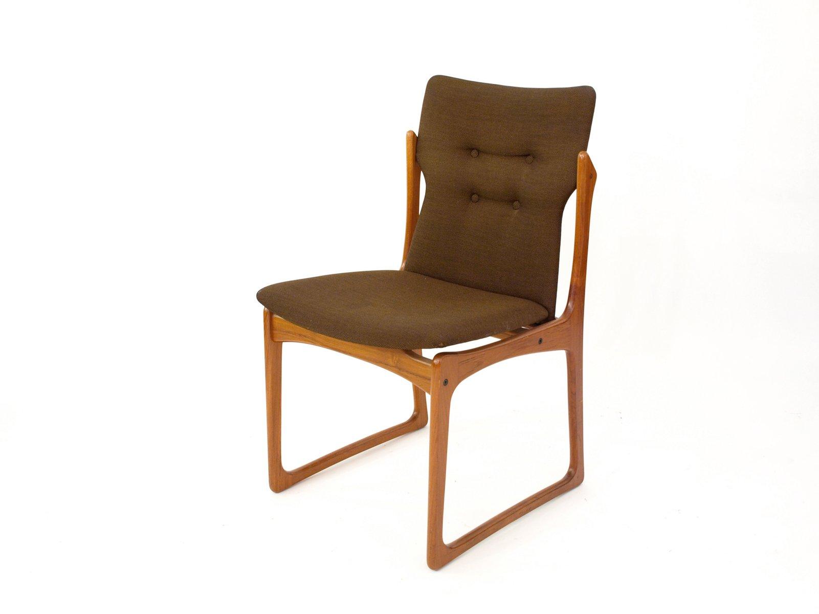 d nischer teak stuhl von vamdrup stolefabrik 1960er bei. Black Bedroom Furniture Sets. Home Design Ideas