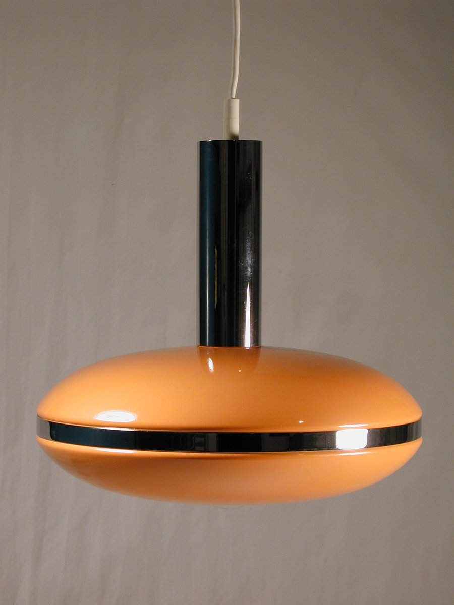 lampe suspension ufo space age 1970s en vente sur pamono. Black Bedroom Furniture Sets. Home Design Ideas