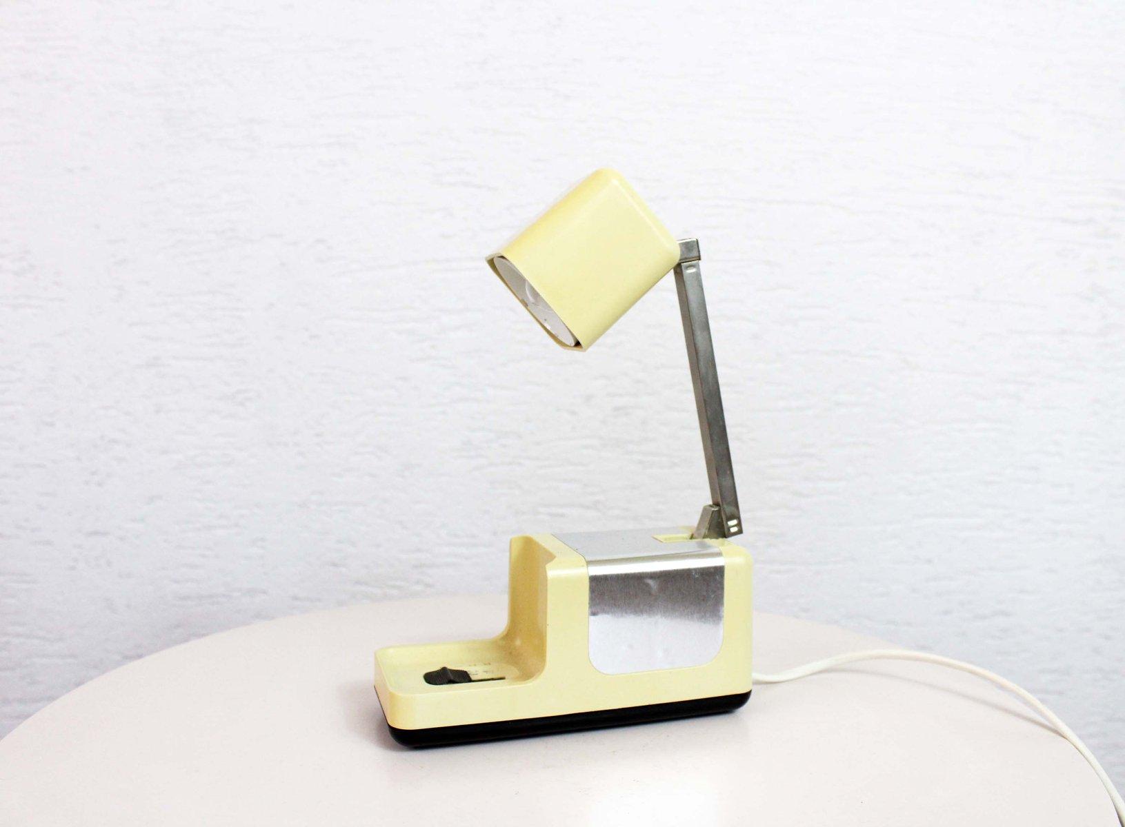 Vintage Teleskop-Schreibtischlampe von Solis