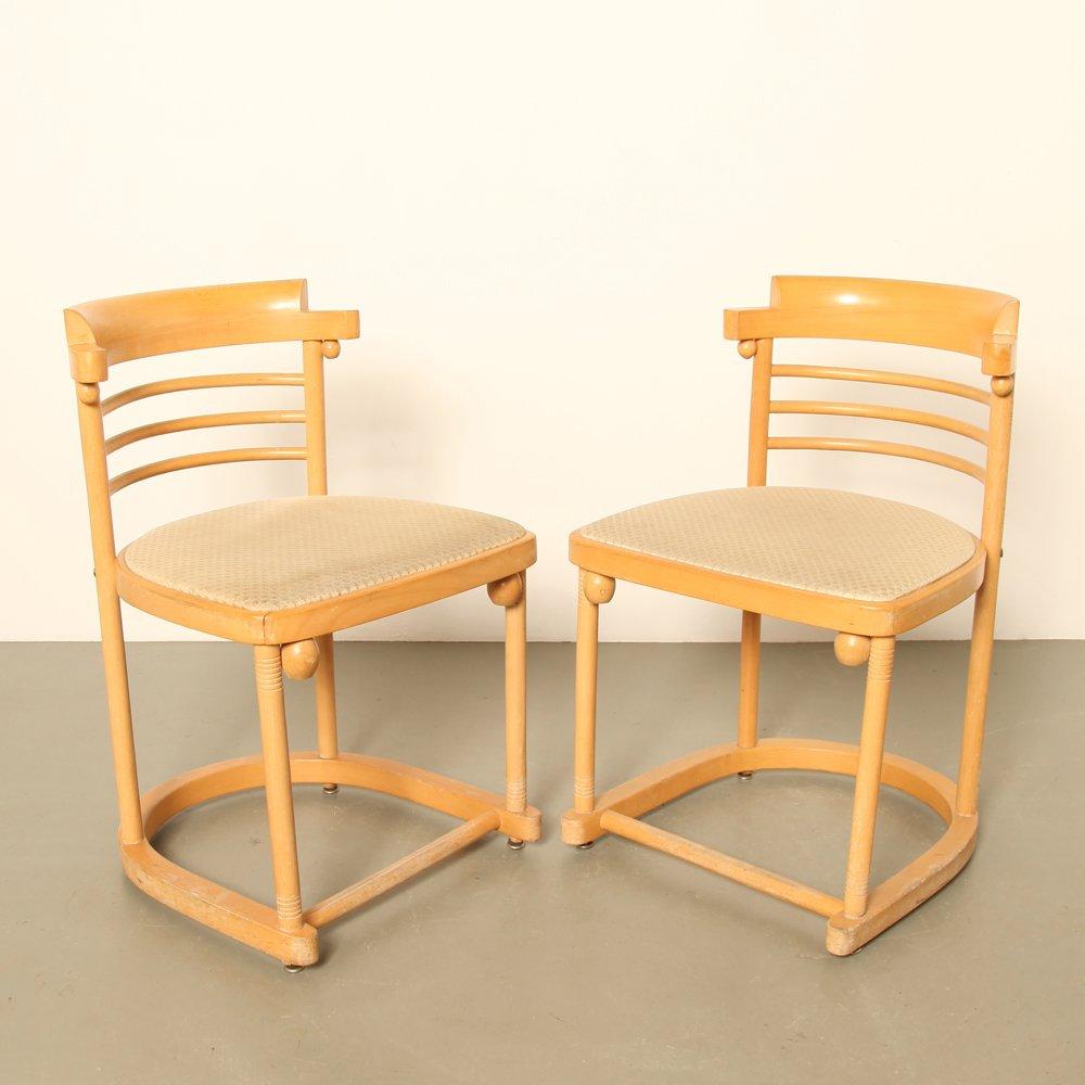 Chaise de salon en bois 1980s en vente sur pamono - Chaise de salon en bois ...