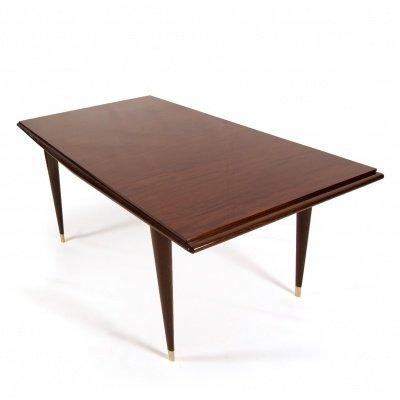 Vintage Mahagoni Tisch, 1930er