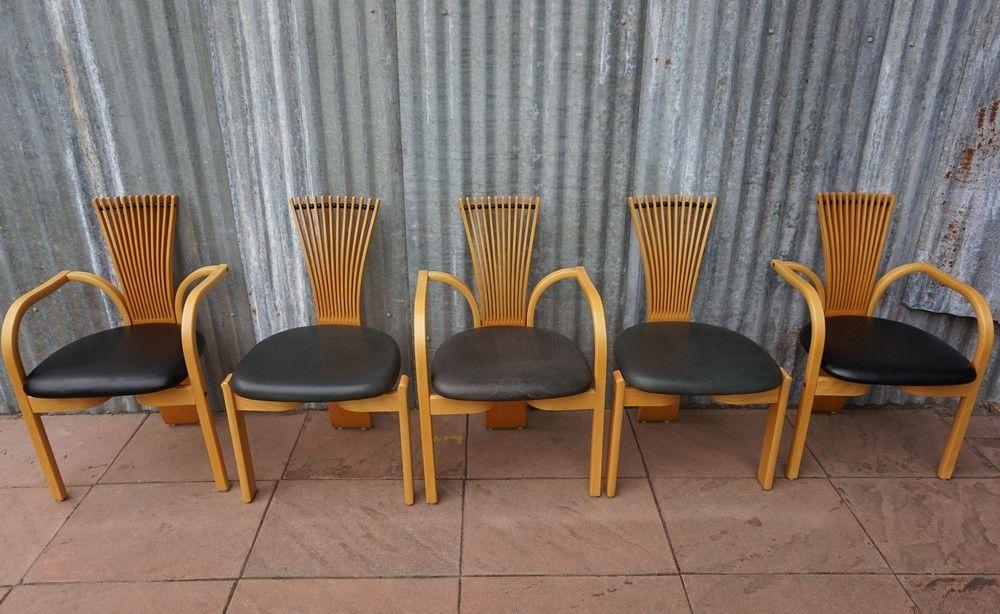skandinavische totem st hle von torstein nilsen f r. Black Bedroom Furniture Sets. Home Design Ideas