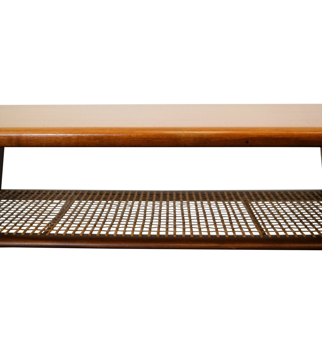 Danish Mid Century Teak Coffee Table 1 Small: Mid-Century Modern Danish Teak Coffee Table, 1950s For