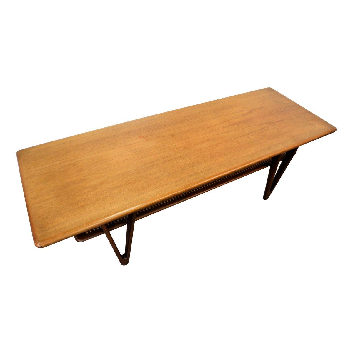 Mid-Century Modern Danish Teak Coffee Table, 1950s For