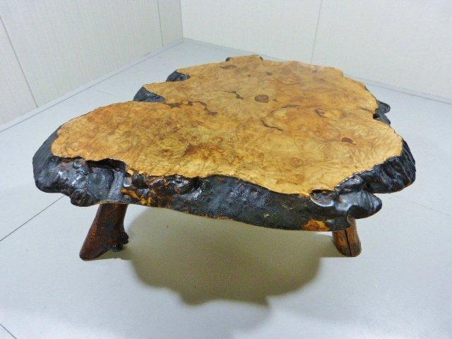 Holzstamm couchtisch aus kanada 1960er bei pamono kaufen for Holzstamm couchtisch
