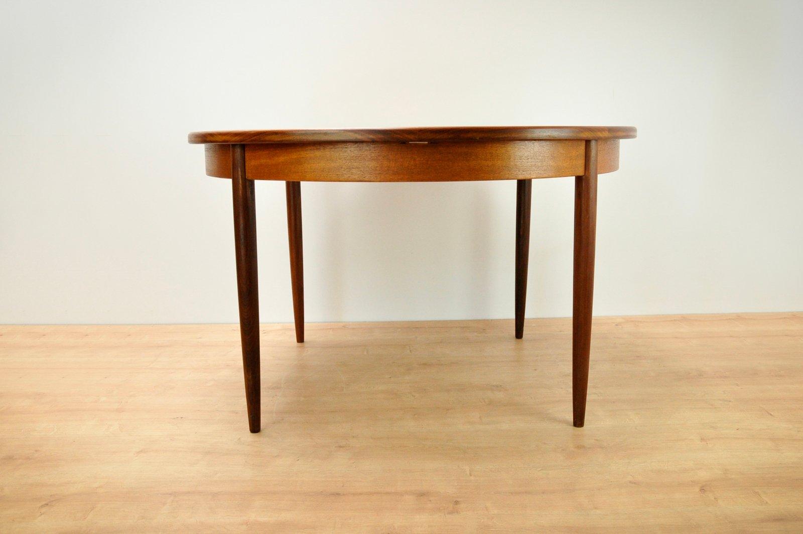 esstisch und 4 st hle von ib kofod larsen f r g plan 1960er bei pamono kaufen. Black Bedroom Furniture Sets. Home Design Ideas