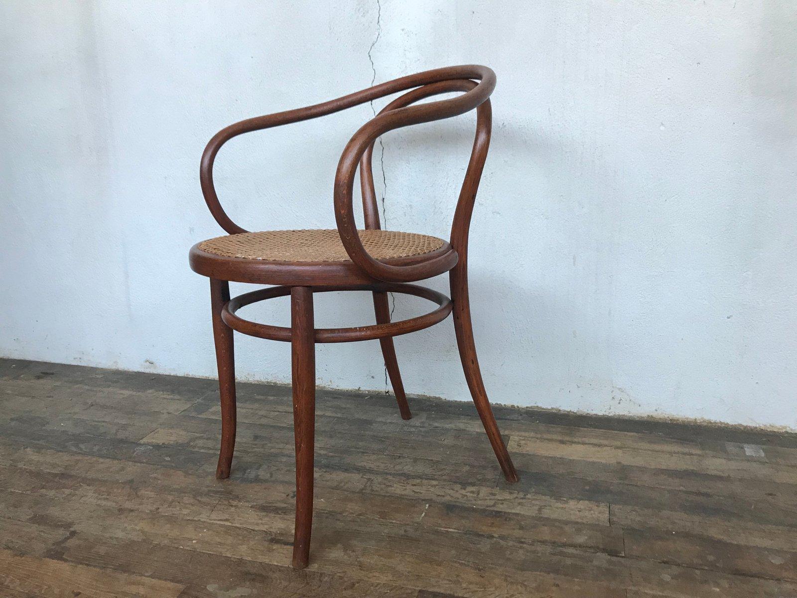 Antique Austrian Bentwood And Cane Chair From Jacob U0026 Joseph Kohn