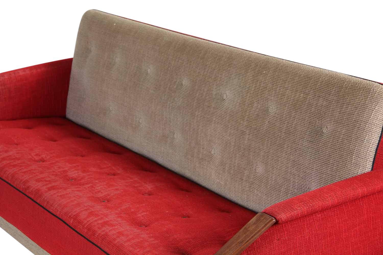 canap lit 3 places vintage danemark en vente sur pamono. Black Bedroom Furniture Sets. Home Design Ideas