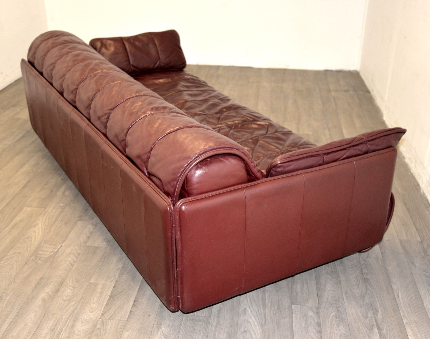 schweizer leder schlafsofa von de sede 1970er bei pamono kaufen. Black Bedroom Furniture Sets. Home Design Ideas