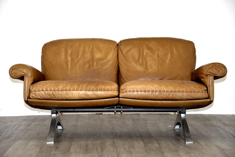 canap deux places ds 31 vintage de de sede en vente sur pamono. Black Bedroom Furniture Sets. Home Design Ideas