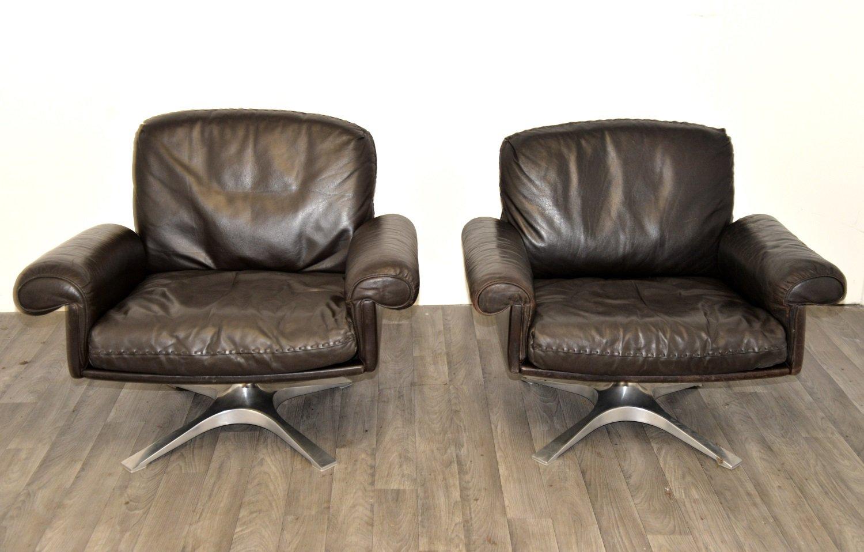 vintage ds 31 sessel und sofa von de sede 3er set bei pamono kaufen. Black Bedroom Furniture Sets. Home Design Ideas