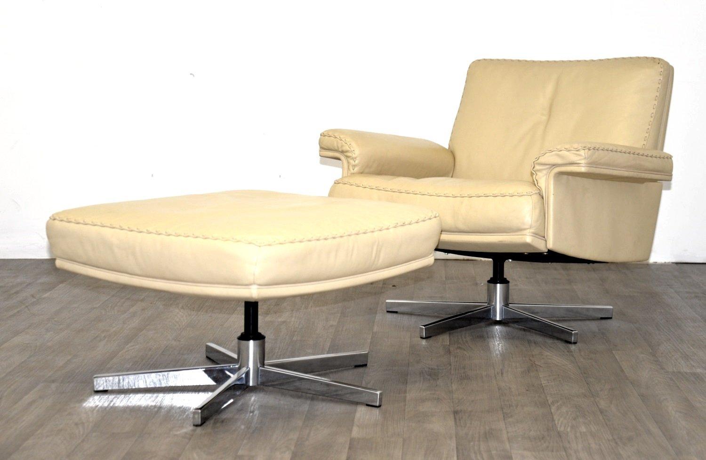 vintage ds 35 2 sitzer sofa und sessel von de sede 1970er bei pamono kaufen. Black Bedroom Furniture Sets. Home Design Ideas