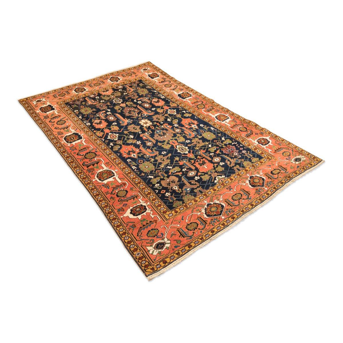 tapis erivan antique 19th century avec n ud fin motif g om trique en vente sur pamono. Black Bedroom Furniture Sets. Home Design Ideas