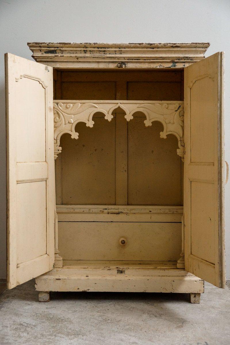 Antiker Indischer Tempel Schrank, 1900er bei Pamono kaufen