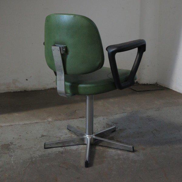 Sedia da barbiere vintage, anni '70 in vendita su Pamono