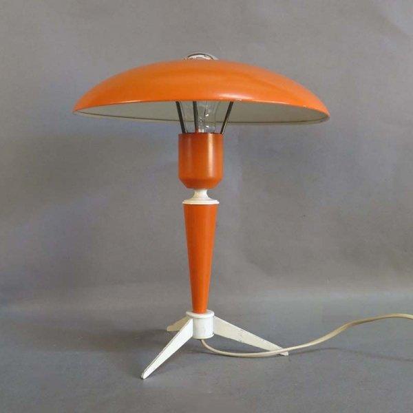 Tischlampe von Louis Kalff für Philipps, 1950er