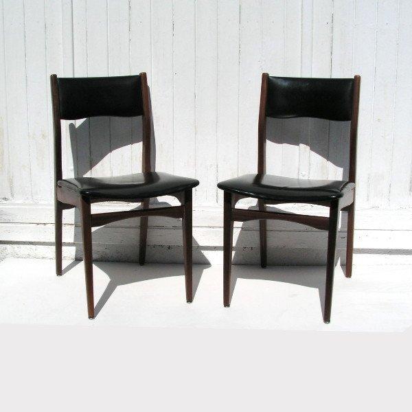 skandinavische vintage st hle 1950er 2er set bei pamono kaufen. Black Bedroom Furniture Sets. Home Design Ideas