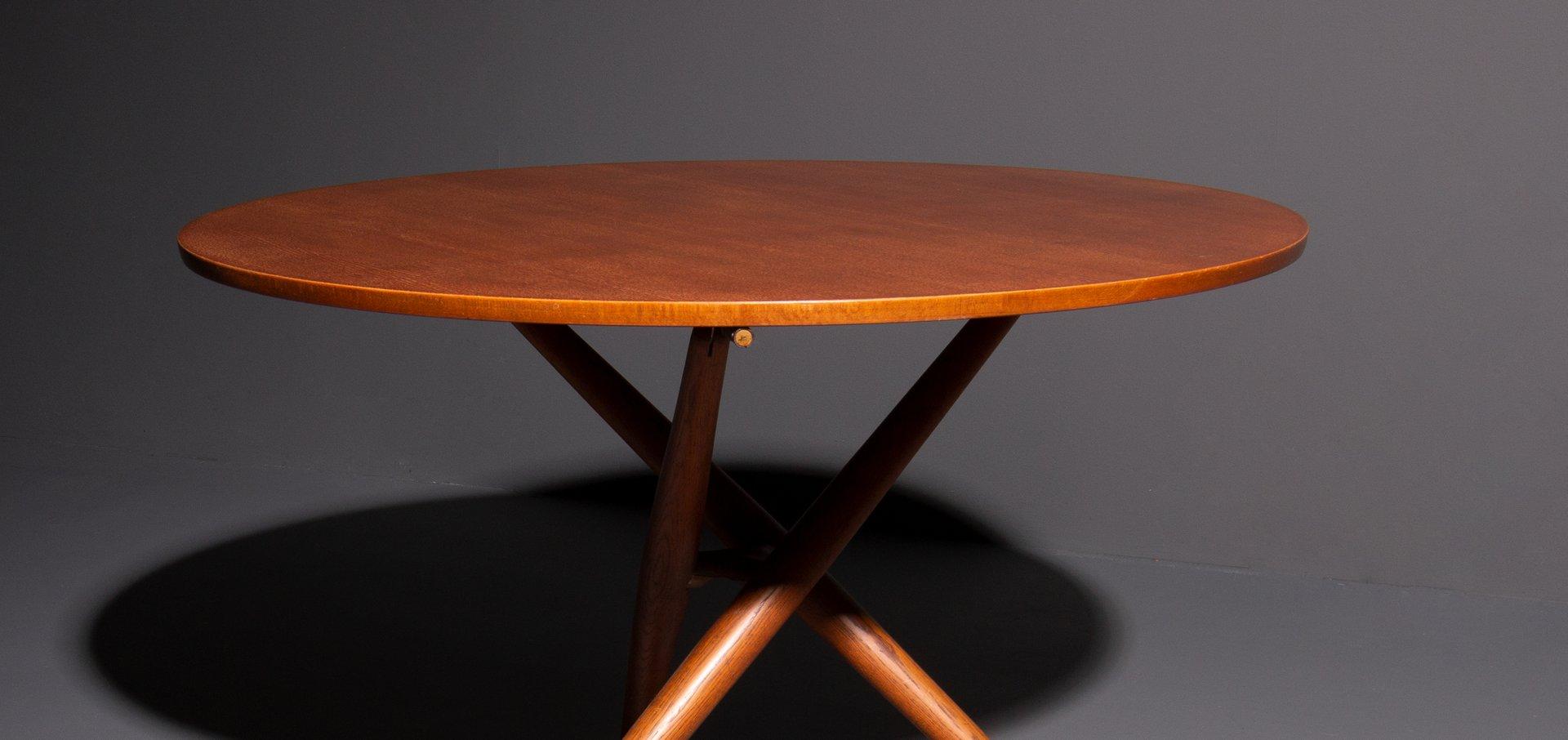 Mid Century Tisch Von Jürg Bally Für Wohnhilfe Zürich 1950er Bei