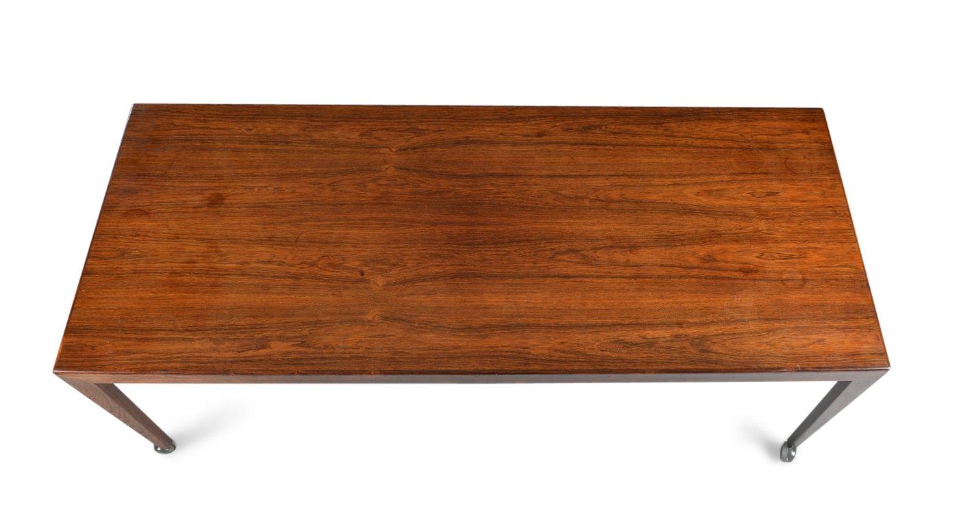 table basse sur roulettes par johannes andersen pour uldum 1960s en vente sur pamono. Black Bedroom Furniture Sets. Home Design Ideas
