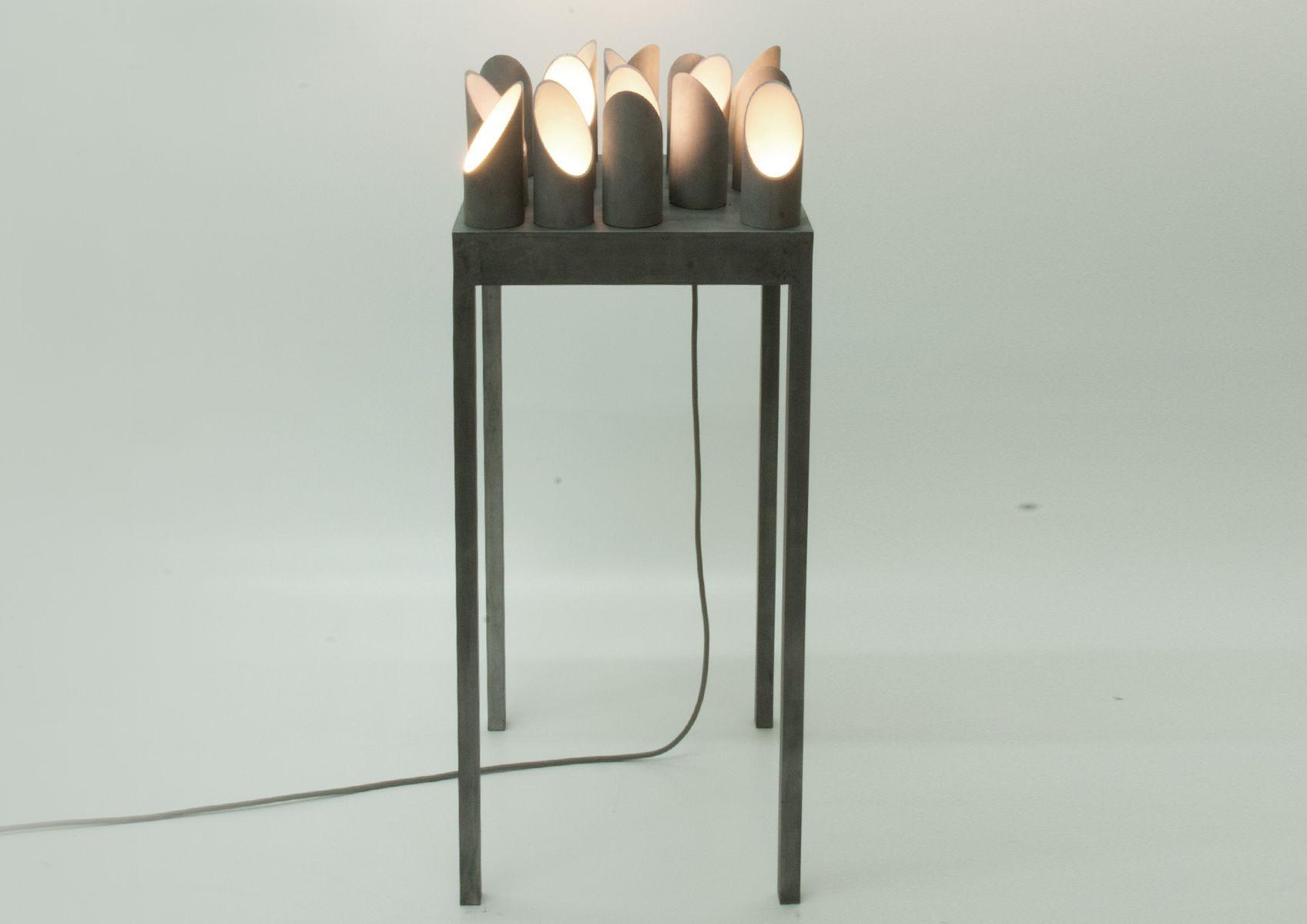 Dornentisch Aluminium Light Skulptur von early light