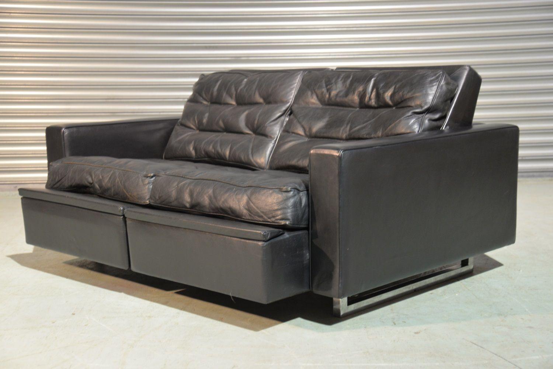 Divano Reclinabile Due Posti : Divano ds a reclinabile vintage a due posti di de sede anni