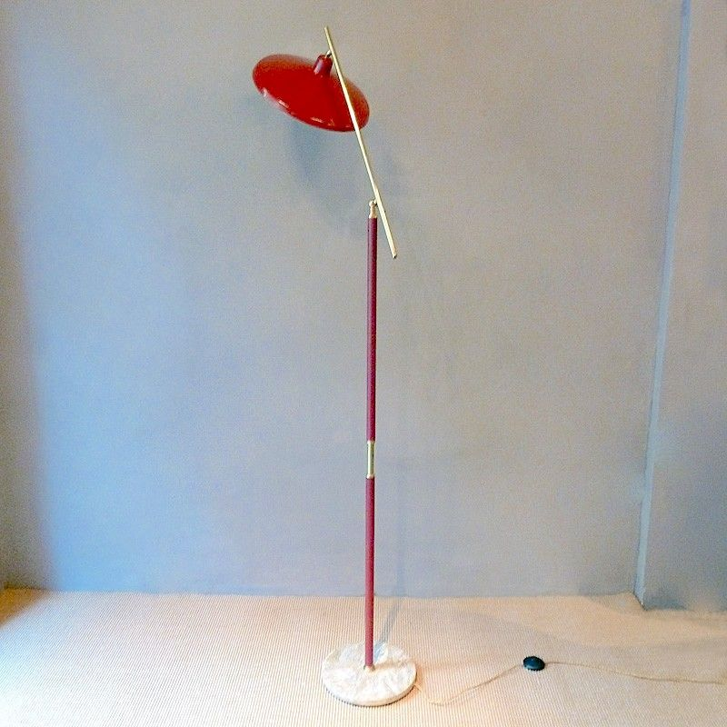 Vintage Articulated Floor Lamp 1960s For Sale At Pamono