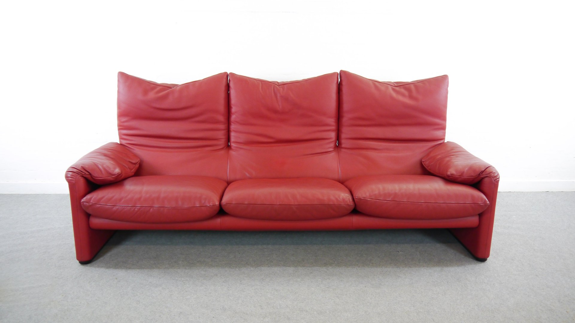 Vintage Maralunga Sofa By Vico Magistretti For Cassina For